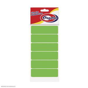 Etiqueta Para File Verde Fosforescente