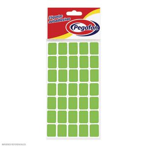 Etiqueta Para Precio Verde Fosforescente
