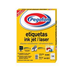 Etiqueta Pegafan Imp A4-1 1526 7Fil(Pqx6300) 014001420