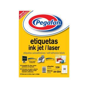 Etiqueta Pegafan Imp A4-4 2564 3Fil(Pqtx330) 014001425