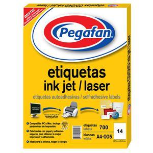 Etiqueta Pegafan Imp A4-5 3899 2Fil(Pqtx700) 014001428
