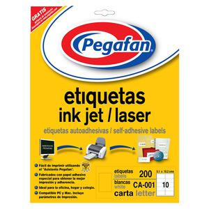 Etiqueta Pegafan P Cd/Dvd (Pqtx20)           014001415
