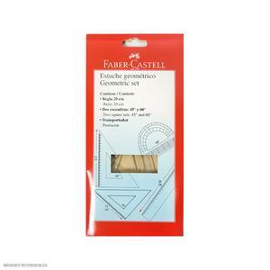 Faber-Castell Juego De Escuadras X 20 Cm