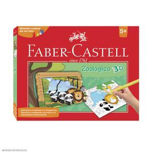 Faber-Castell Set Creativo Zoológico 3D