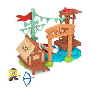 Fisher Price Imaginex Bob Esponja Camp Coral