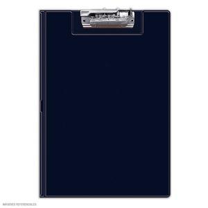 Folder Doble Tapa Con Sujetador Azul