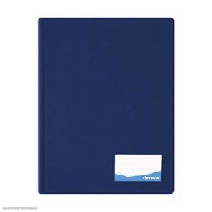 Folder Oficio Doble Tapa Con Gusano Azul Artesco