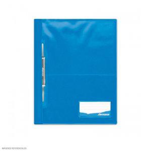 Folder Oficio Tapa Transp Con Fastener Turquesa Artesco