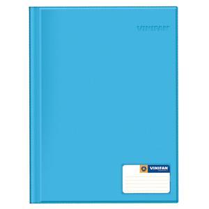 Folder Oficio Doble Tapa Con Gusano Celeste Vinifan