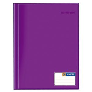 Folder Oficio Doble Tapa Con Gusano Morado Vinifan