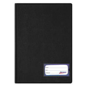 Folder Oficio Doble Tapa Con Gusano Negro Artesco