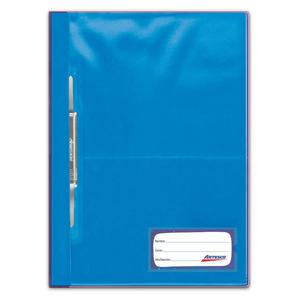 Folder Oficio Tapa Transp Con Fastener Turqueza Artesco