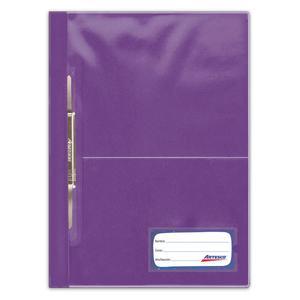 Folder Tapa Transparente Oficio Con Fastener Surtido