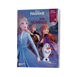 Frozen Ii Pinta Por Numeros