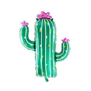 Globo Metálico Cactus 60X82Cm Sin Inflar