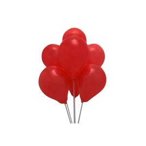 Globos N 9 Rojo Pastel Bolsa X100