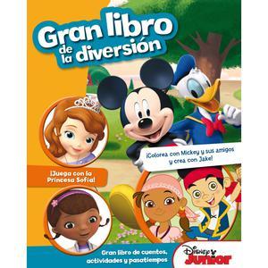 Gran Libro De La Diversión - Disney Junior