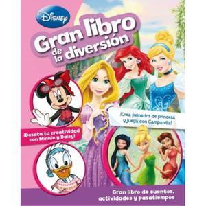 Gran Libro De La Diversión: Princesas - Disney Junior