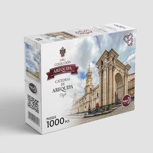 Hakan Rompecabezas 1000Pz Catedral Arequipa