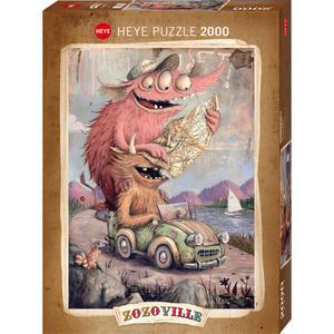 Heye Rompecab 2000Pz Road Trippi