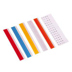 Index Tabs Stan 3/8 Pulgadas 15 Cm Cristal Artesco