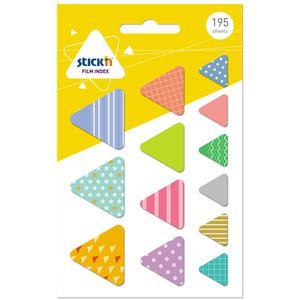 Index T/Bander Triangulo 195H Stick'N