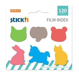 Index T/Banderita Animalitos 6Pads X 20H Stick'N