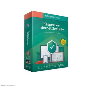 Internet Security Kaspersky 3Pc 12Meses