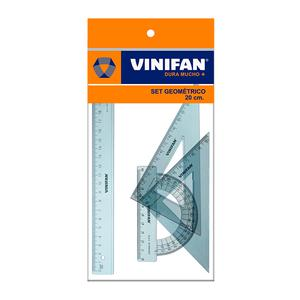 Juego De Escuadras X 20Cm Vinifan