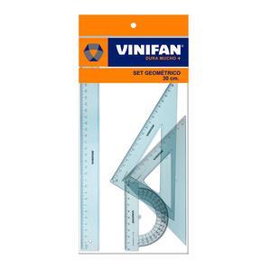 Juego Escuadras X 30Cm Vinifan