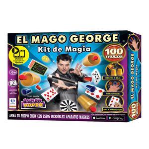 Kit Magia Mago George 100 Trucos 9000