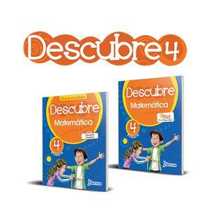 Kit Matematica Descubre 4° De Primaria Norma