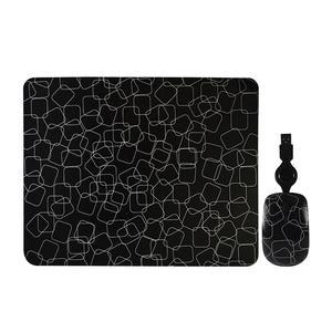 Kit Pad + Mouse Usb Funky Squares