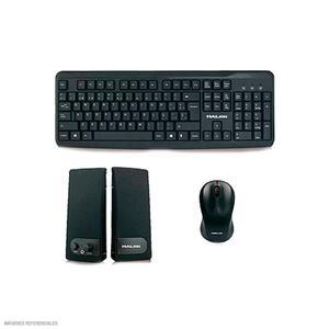 Kit Teclado + Mouse + Parlante Ha-52K3