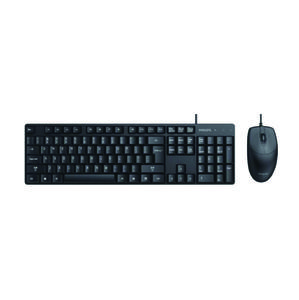 Kit Teclado & Mouse Philips Spt6254B Usb Con Cable