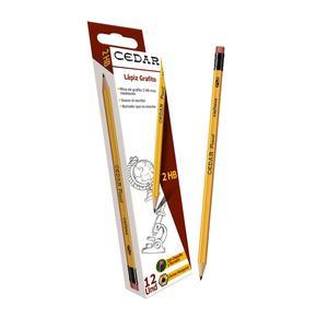Lapiz Cedar 2Hb C/B Cax12 Layconsa