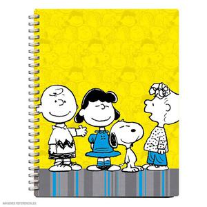 Libreta Anillada A6 80 Hojas Cuadriculada Snoopy