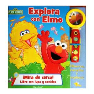Libro Act - Explora Con Elmo C/Lupa