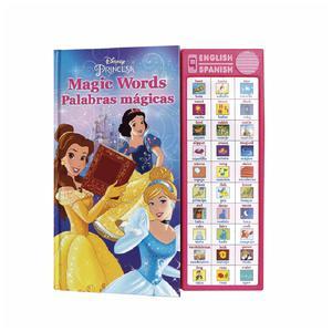 Libro Actividades Disney Princesas Palabras Esp/In