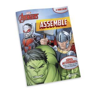 Libro Actividades Marvel Avenger Assemble