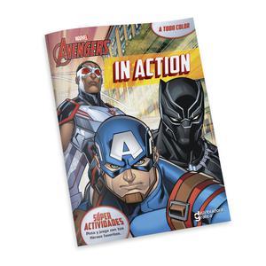 Libro Actividades Marvel Avenger In Action