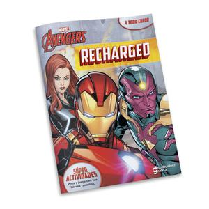 Libro Actividades Marvel Avenger Recharge