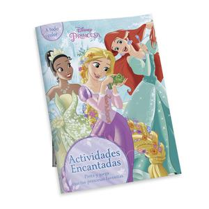 Libro Actividades Princesas Encantadas