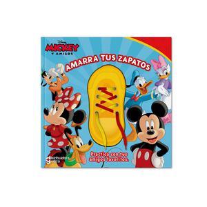 Libro De Actividades Mickey Y Amigos Amarra Tus Zapatos