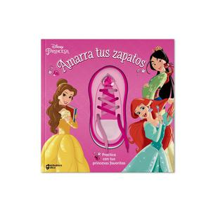 Libro De Actividades Princesas Amarra Zapato Dgraf