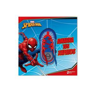 Libro De Actividades Spiderman Amarra Zapato Dgraf