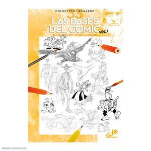 Libro De Dibujo Colección Leonardo - Las Bases Del Comic Vol. 1
