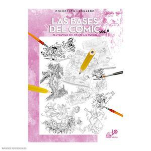 Libro De Dibujo Colección Leonardo - Las Bases Del Comic Vol. 2