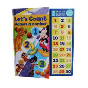 Libro Disney Vamos A Contar Bilingüe Eurosur