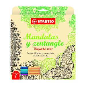 Libro Mandalas Y Zentangle Vol 1 Stabilo